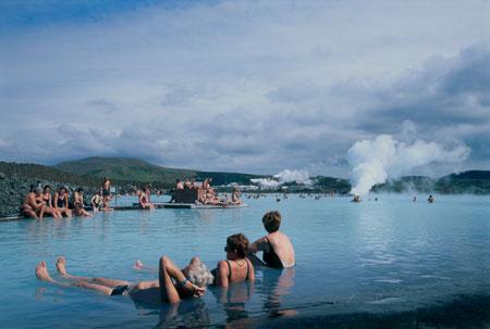 הלגונה הכחולה – איסלנד