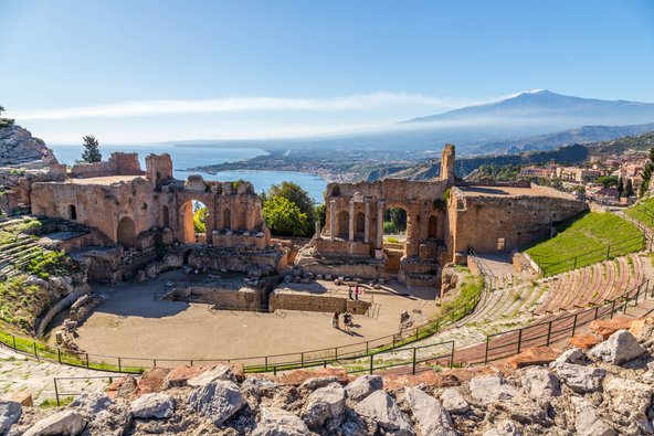 סיציליה: מסלול של שבוע באי