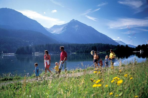 שווייץ למשפחות: מגרש המשחקים של הטבע