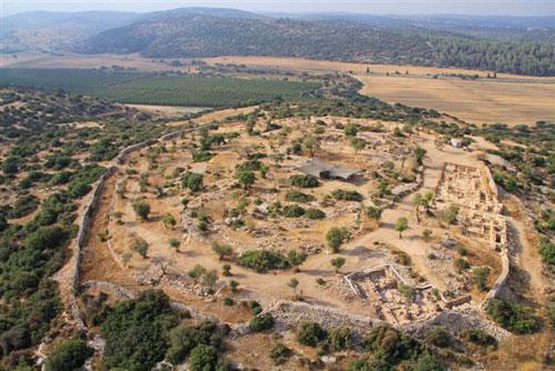 ארמון של דוד המלך נחשף  בשפלת יהודה