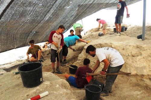 נפתחה עונת החפירות בסוסיתא העתיקה