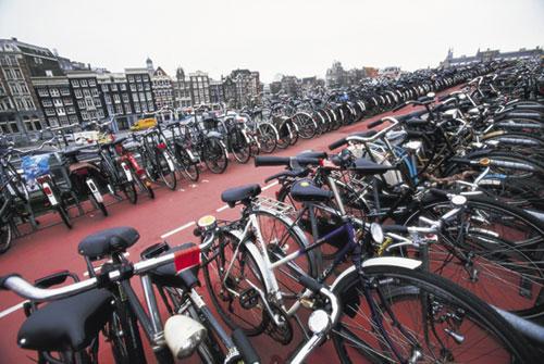 אופניים באמסטרדם: הבירה העולמית