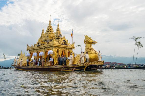 בורמה: פסטיבל על אגם אינלה