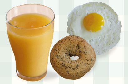 ארוחת בוקר מדליקה: 10 הצעות