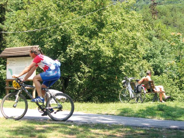אגם גארדה באופניים