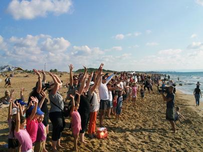 חוף בצת – ניצחון לשוחרי הסביבה, החוף ניצל