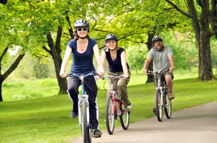 לרכוב על אופניים בלי להזיק לסביבה
