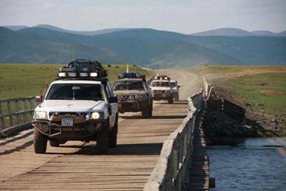מונגוליה לשוחרי הרפתקאות ונהיגת שטח