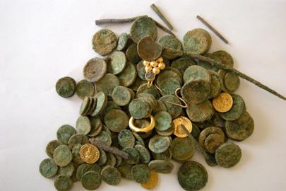 מצאו את המטמון: אוצר עתיק התגלה ליד קרית גת