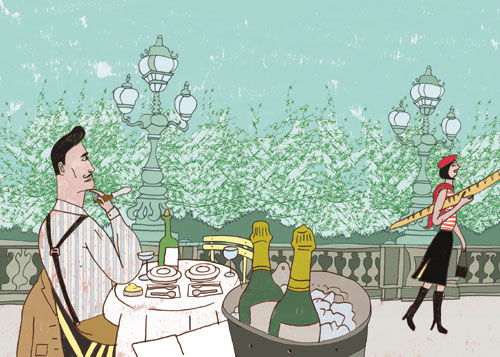 אוכל בפריז: חירות היצירה