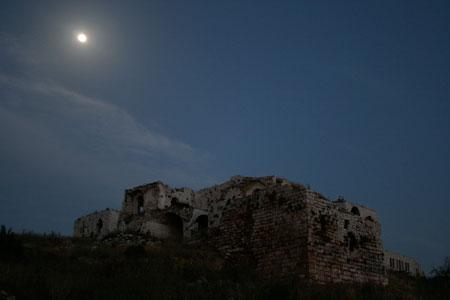 מגדל אפק – טיול בלילה