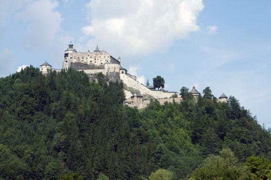 טיול קרוואנים במחוז זלצבורג באוסטריה