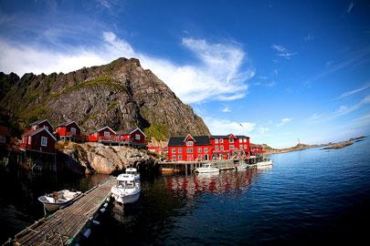 איי לופוטן בקצה נורווגיה – צפונים אבל קשוחים