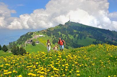 טיול משפחתי בשווייץ