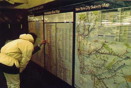 רכבת תחתית בניו יורק: שלושה מטרים מתחת למנהטן
