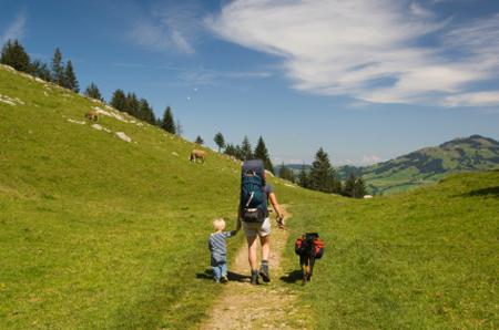 שווייץ: טיול משפחתי בהרים
