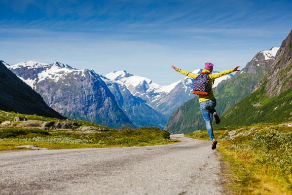 ללכת על הקצה – ריגושים בטיול