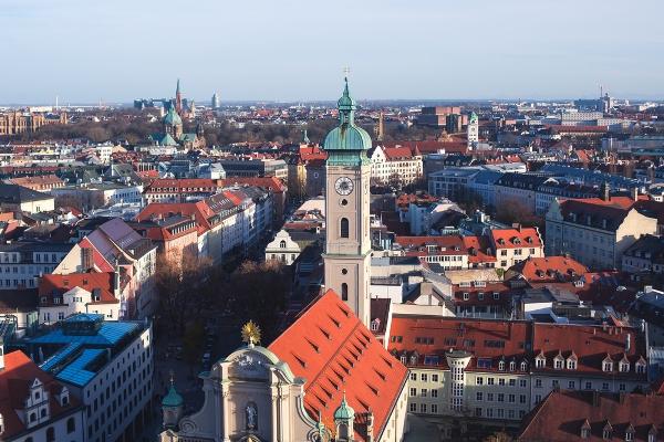 מינכן – חופשה קצרה מסביב לשעון