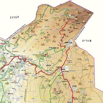 האחרון מפת מזרח-תיכון - מפות בעברית באתר מסע אחר לתכנון טיול במזרח-תיכון AO-28