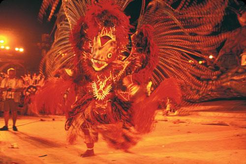 פסטיבל בוי בומבה בברזיל: אדום עולה