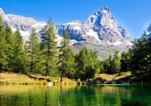 האלפים האיטלקיים: טיול בעמק אאוסטה