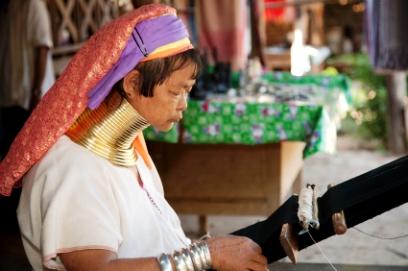 צפון תאילנד: ארוכות הצוואר