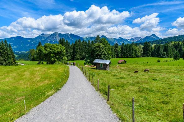 מינכן והאלפים הבוואריים: לטייל בתוך אגדה