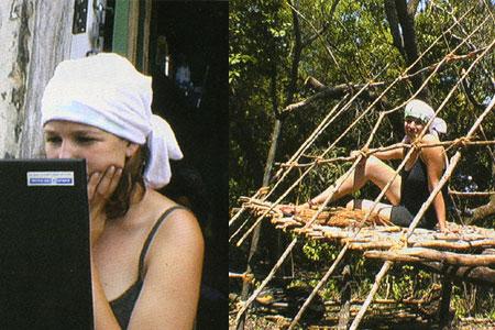 שניים באי בודד: צרות בגן עדן