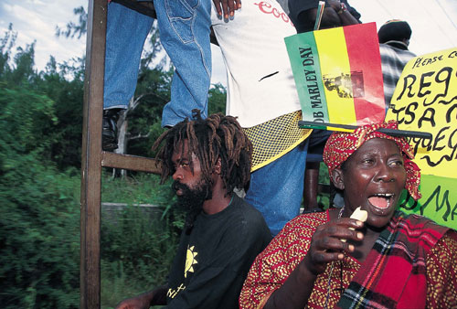 ג'מייקה: יום הולדת שמח, בוב מארלי