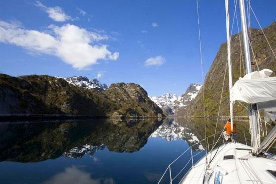 הפלגת הרפתקאות בצפון נורווגיה