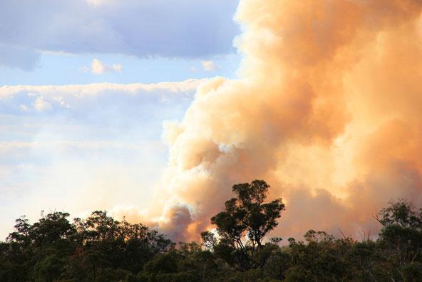 קיימות ושריפות ענק באוסטרליה