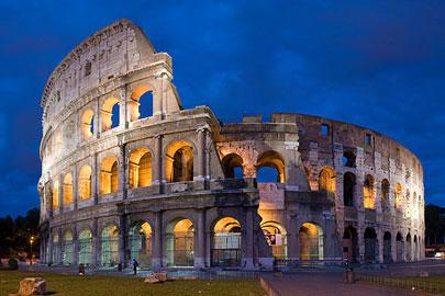 האם הקולוסאום של רומא שוקע?