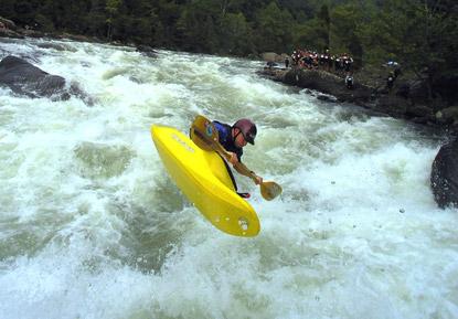 מים לבנים: רפטינג בנהר גאולי