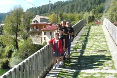 חופשת אקשן משפחתית ברכסי צפון צ'כיה