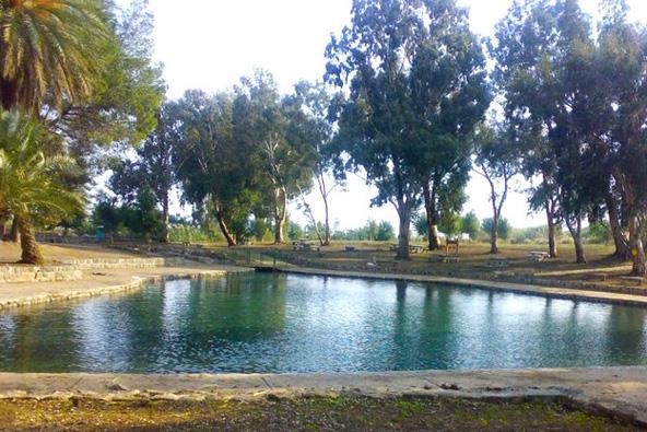 טיול מים בפארק המעיינות