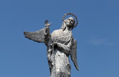 אקוודור: כשהבתולה הקדושה פגשה את מלכת היופי