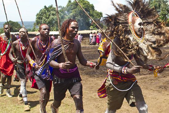 טקס חניכה מסאי, קניה