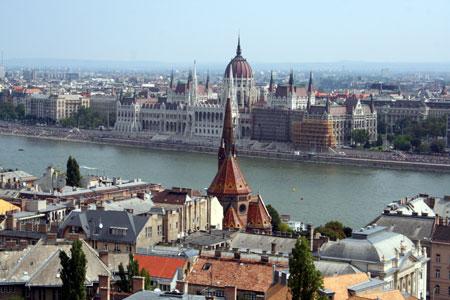 בודפשט – מסלול בבודה: הגדה השמאלית