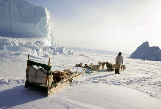 טיול חורף לגרינלנד