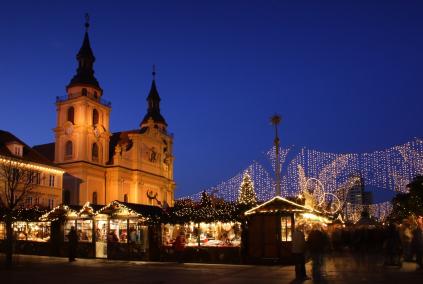 שמחה עונתית: שוקי חג מולד באירופה