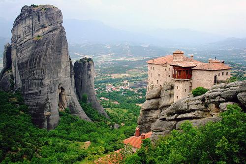 מטאורה, יוון – המנזרים התלויים