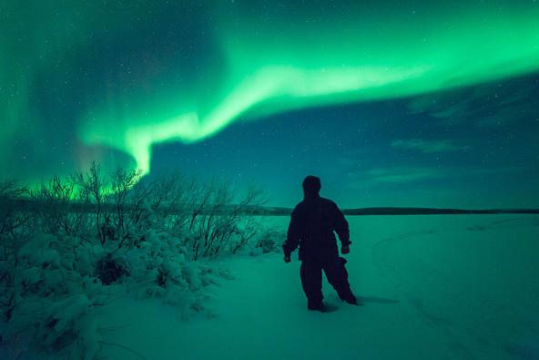 סרטון: הזוהר הצפוני בלפלנד