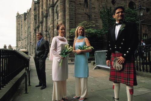 סקוטלנד: גברים קשוחים בחצאית