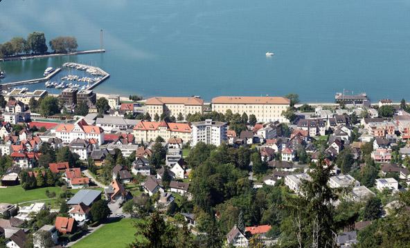 ברגנץ, בחלק האוסטרי של האגם | צילום: שאטרסטוק