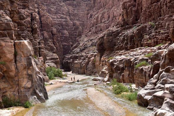 טרקים בירדן: קניוני אדום ומואב בירדן
