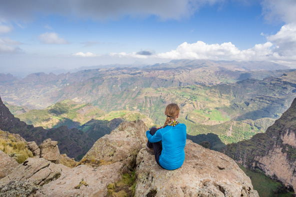 טרק בהרי סימיאן בצפון אתיופיה
