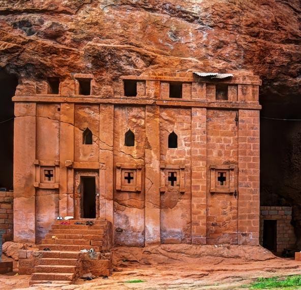 כנסייה חצובה בסלע בלליבלה