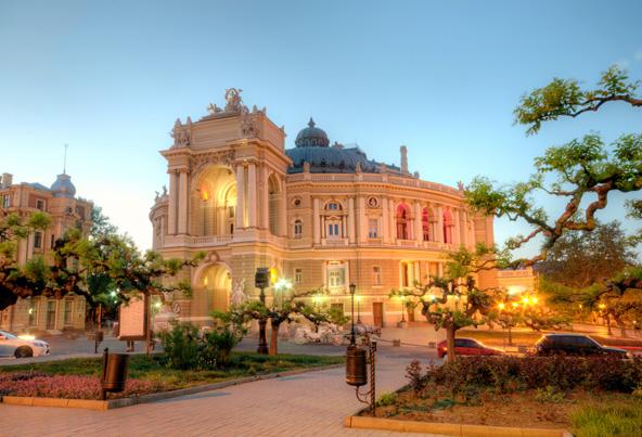 בית האופרה של אודסה, אחד מסמלי העיר