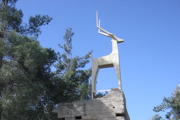 טיול לאנדרטת הצבי הבודד
