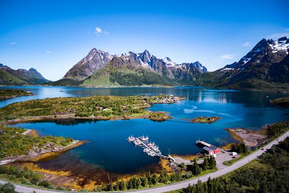 נפלאות סקנדינביה: לטייל בתוך גלויה